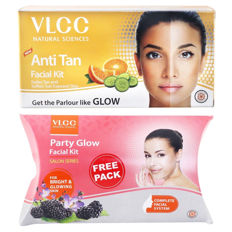 VLCC Anti Tan Facial Kit, 60g with Free Glow Facial Kit, 60g product image