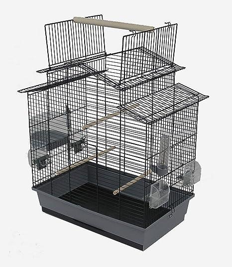 Ollesch Jaula para Pájaros Periquito Canarios con Liberación ...