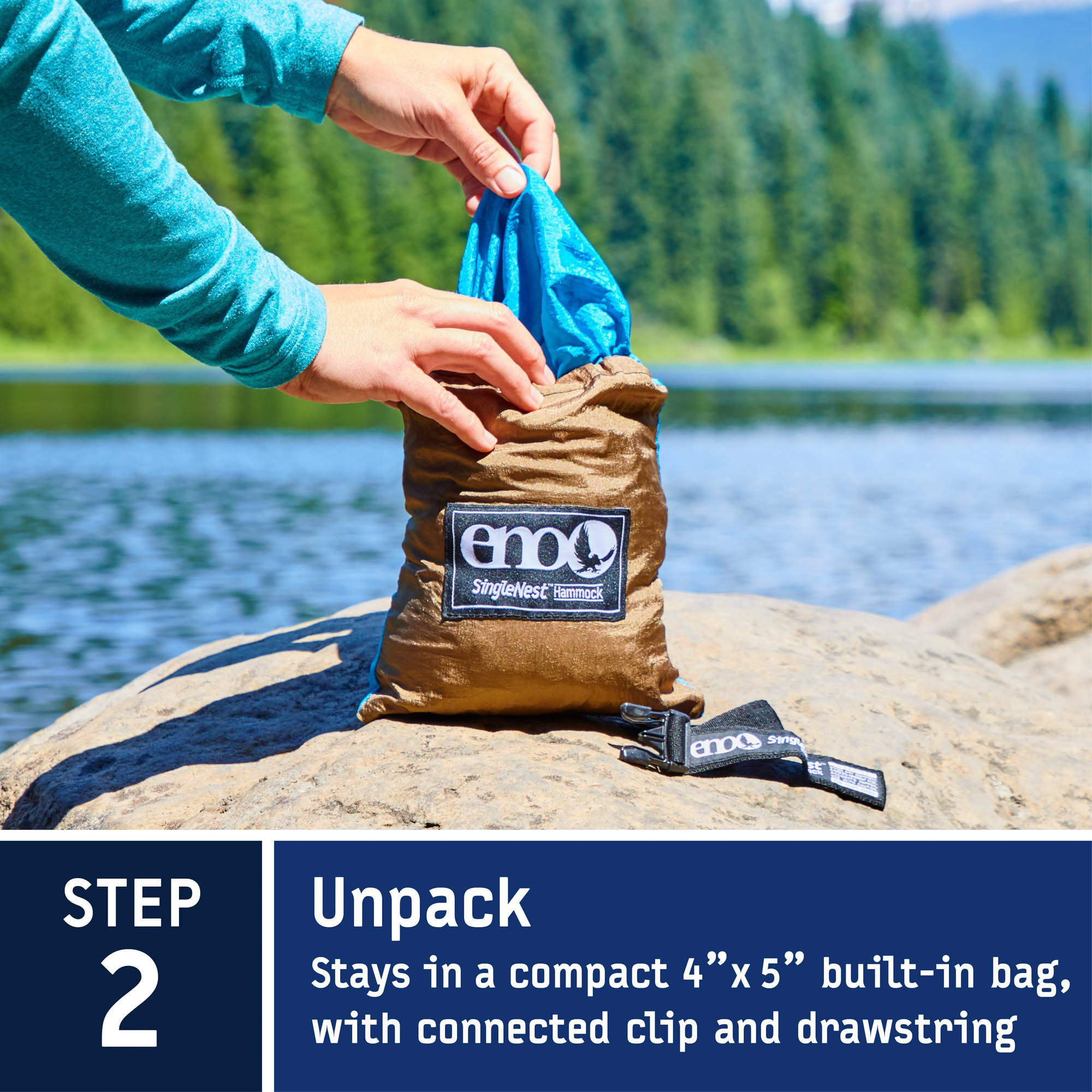 black portable for eno outfitters product singlenest ffp eagles khaki hammock nest one
