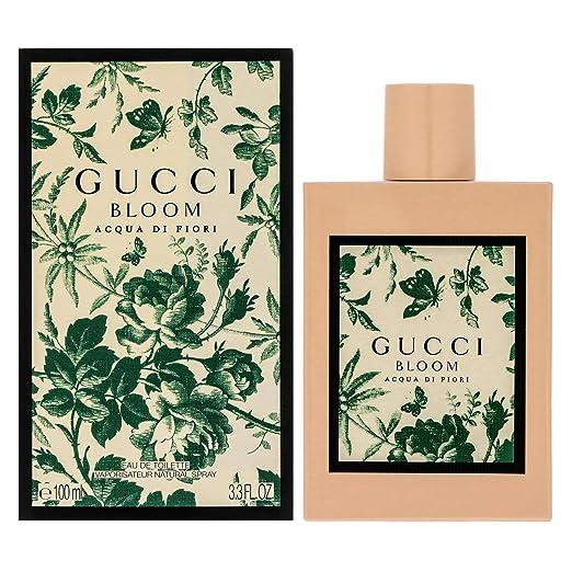 Gucci Bloom Acqua Di Fiori Eau De Toilette Spray, 3.3 Ounce by Gucci