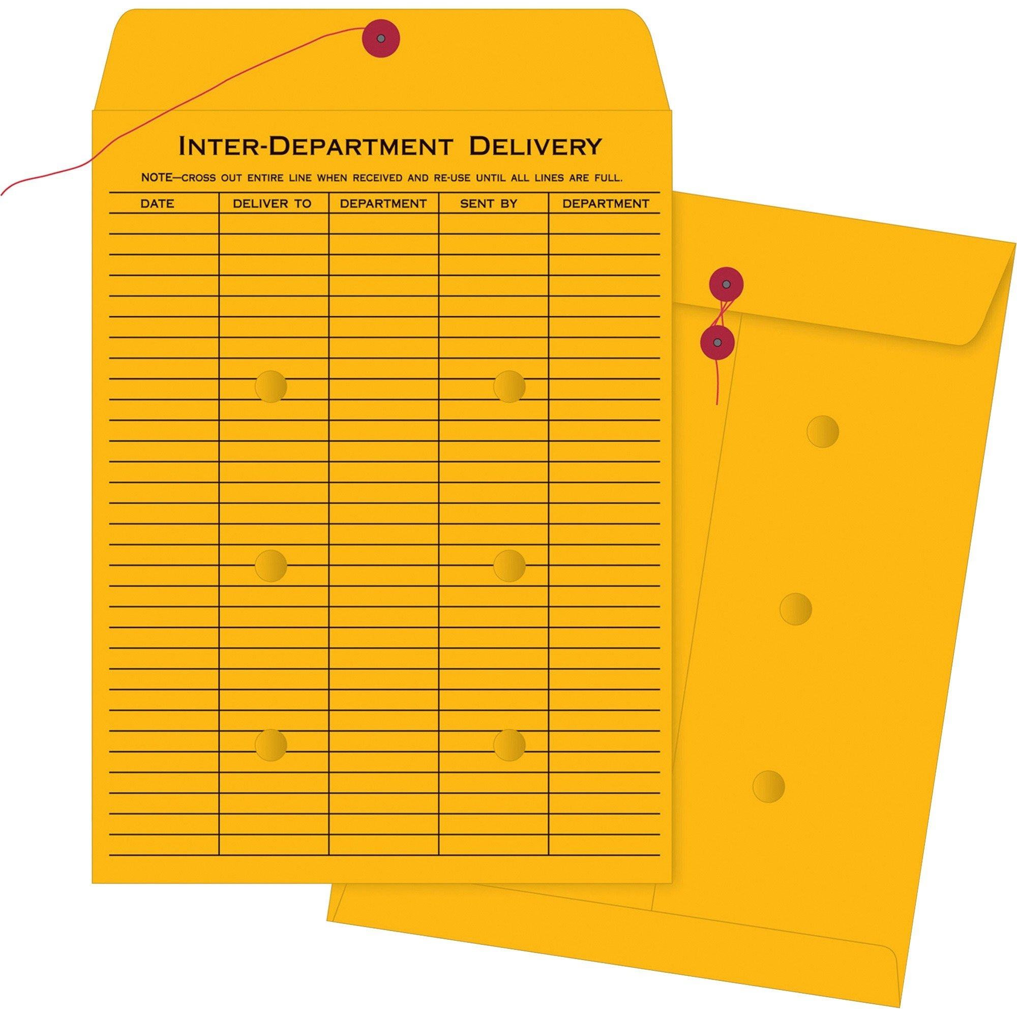 Business Source Ruled Interdepartmental Envelopes by Business Source