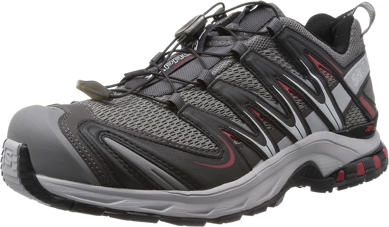 Salomon XA Pro 3D-M - Zapatillas de Trail Running de Sintético Hombre, Color Gris, Talla 9 UK: Amazon.es: Zapatos y complementos