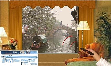 prepare electric wireless stylish control popular remote home curtain ideas buy rod cheap amazing motorized