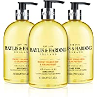 Baylis & Harding Sweet Mandarin and Grapefruit Hand Wash, 500 ml, Pack of 3