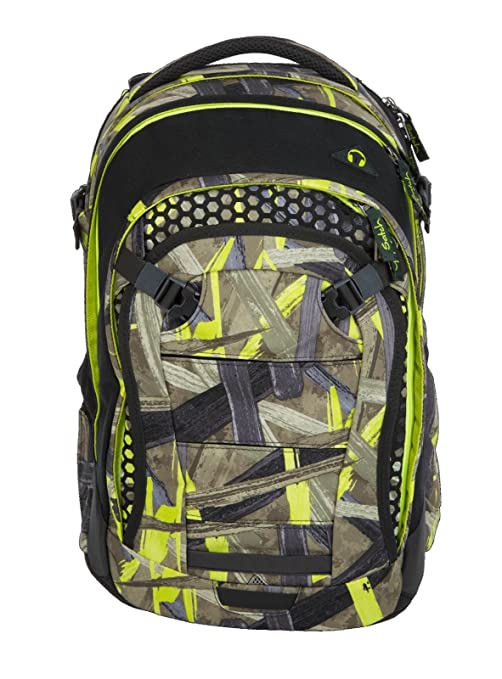 14b49e1d87e27 Satch Match 2tlg. Schulrucksack Set mit BOX – Jungle Lazer  Amazon ...