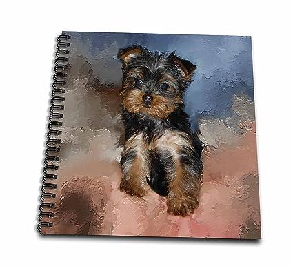 Amazoncom 3drose Db38681 Toy Yorkie Puppy Drawing Book 8 By 8