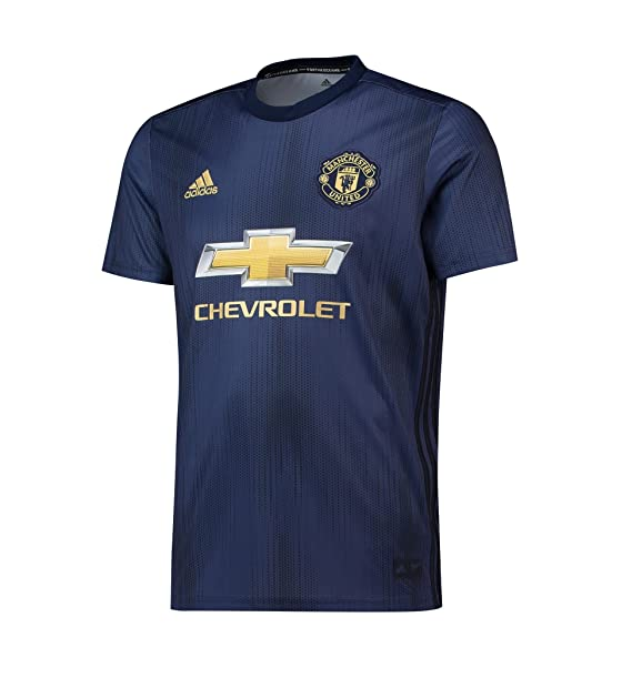 low priced 91ab6 84a6c Manchester United FC Official Football Gift Mens Third Away Kit Shirt 2018  2019