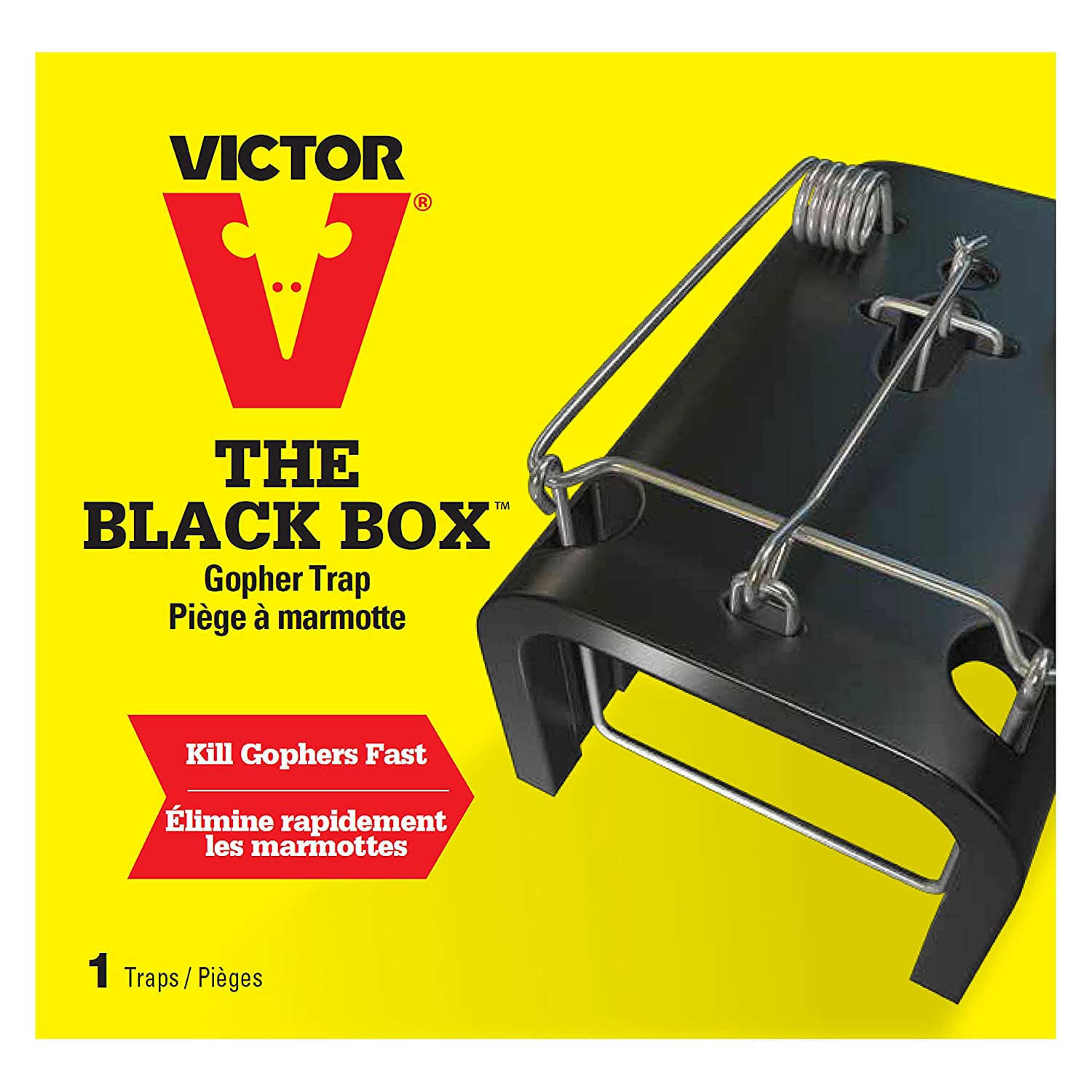amazon com victor the black box gopher trap 0625 reusable