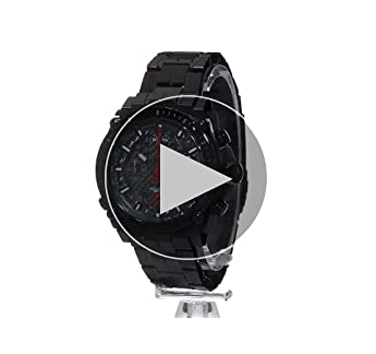 Bulova Men's 'Precisionist' Quartz Stainless Steel Automatic Watch, Color:Black (Model: 98B257)