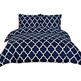 Amazon Price History for:Utopia Bedding Queen Size Duvet Cover with 2 Pillow Shams, Navy Blue