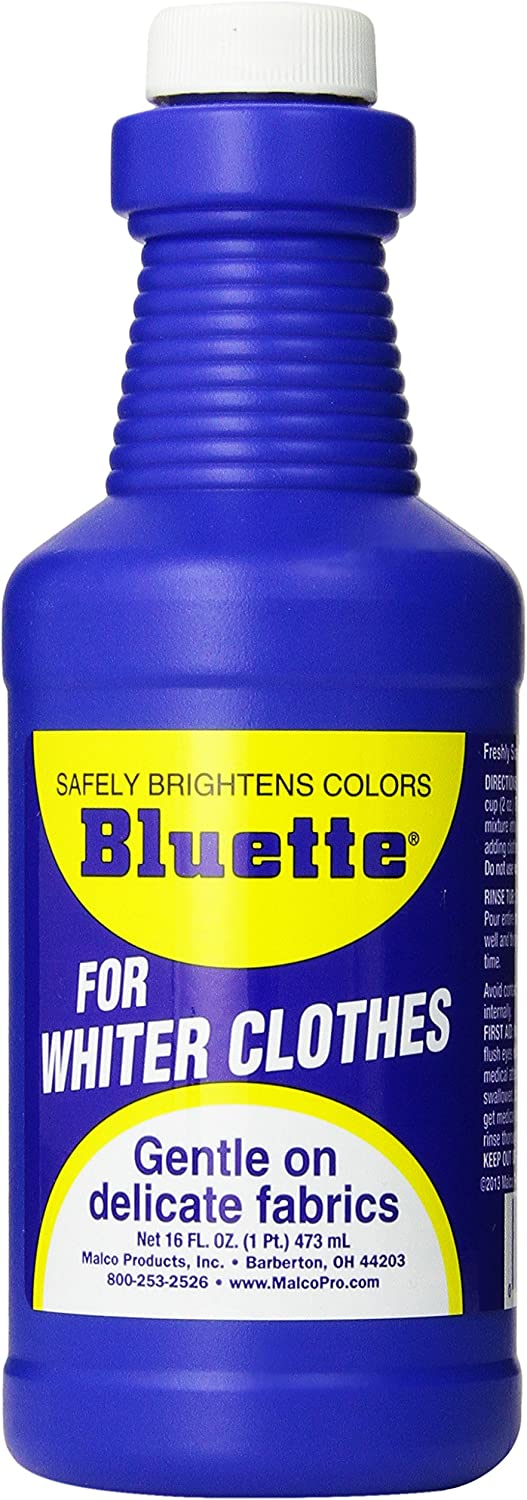 Bluette Laundry Bluing, 16-Fluid Ounce (Pack of 12)