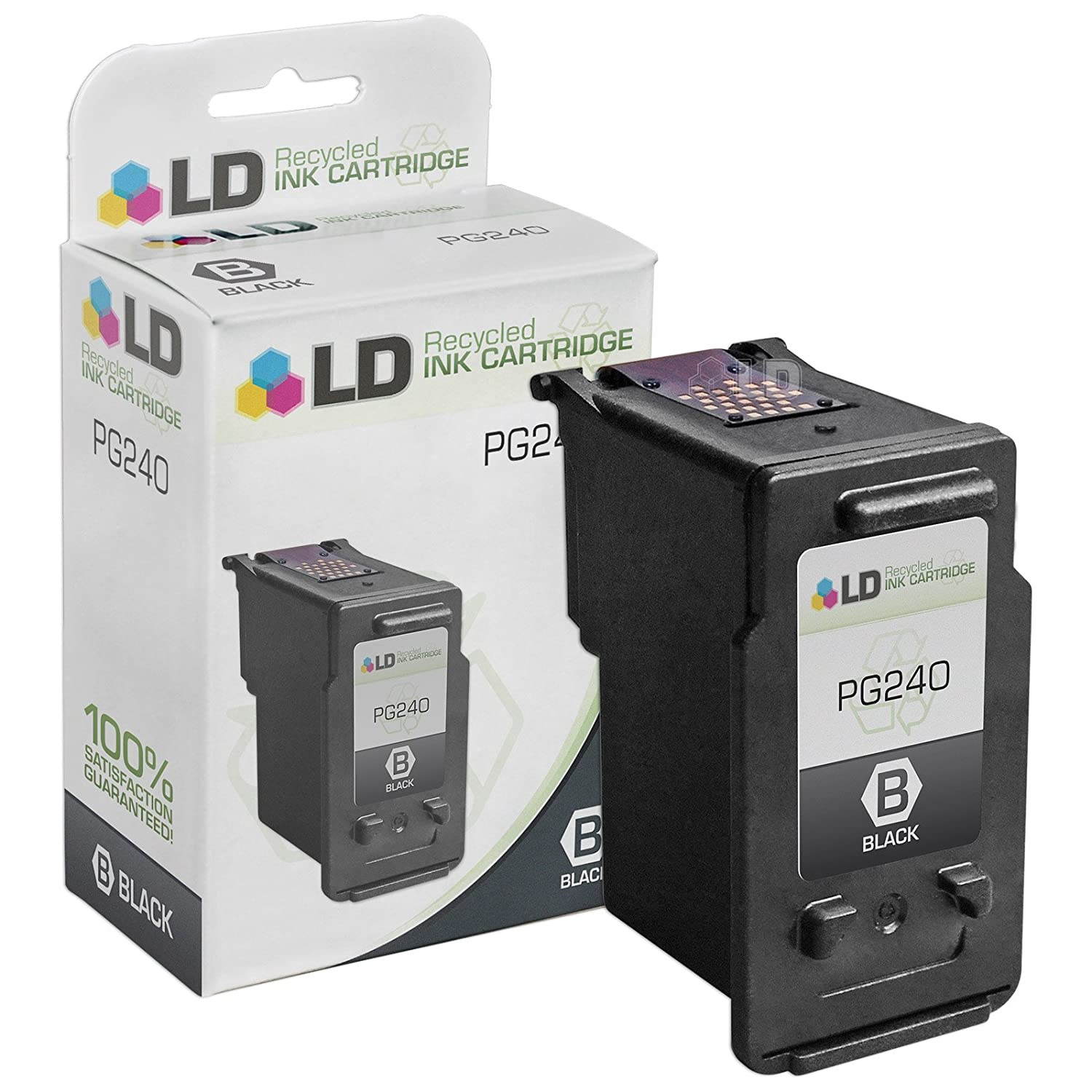Ld Canon Pg 240 5207b001 Black Remanufactured Inkjet Wiring Diagram Cannon Mx459 Fax Cartridge Office Products