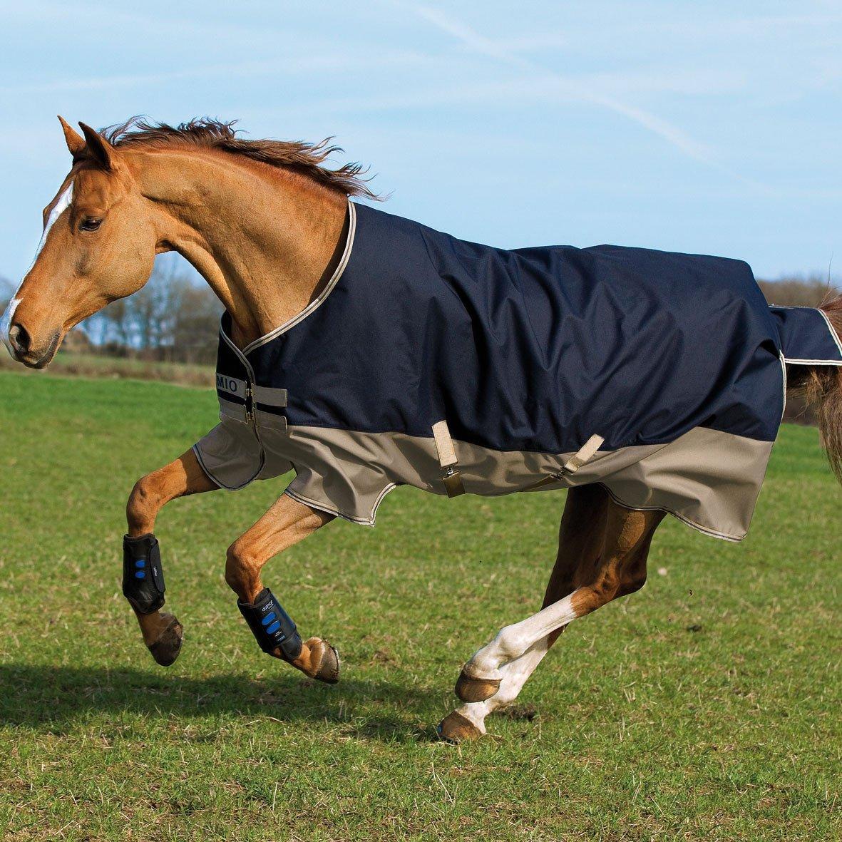 (57, Navy/Tan) - Horseware Amigo Blankets Mio Lite Turnout Sheet 57 Navy/Tan B00IIBYUJU 69|ネイビー/タン ネイビー/タン 69