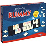 Noris Spiele 606104407 - Rummy, Deluxe Set, Familienspiel