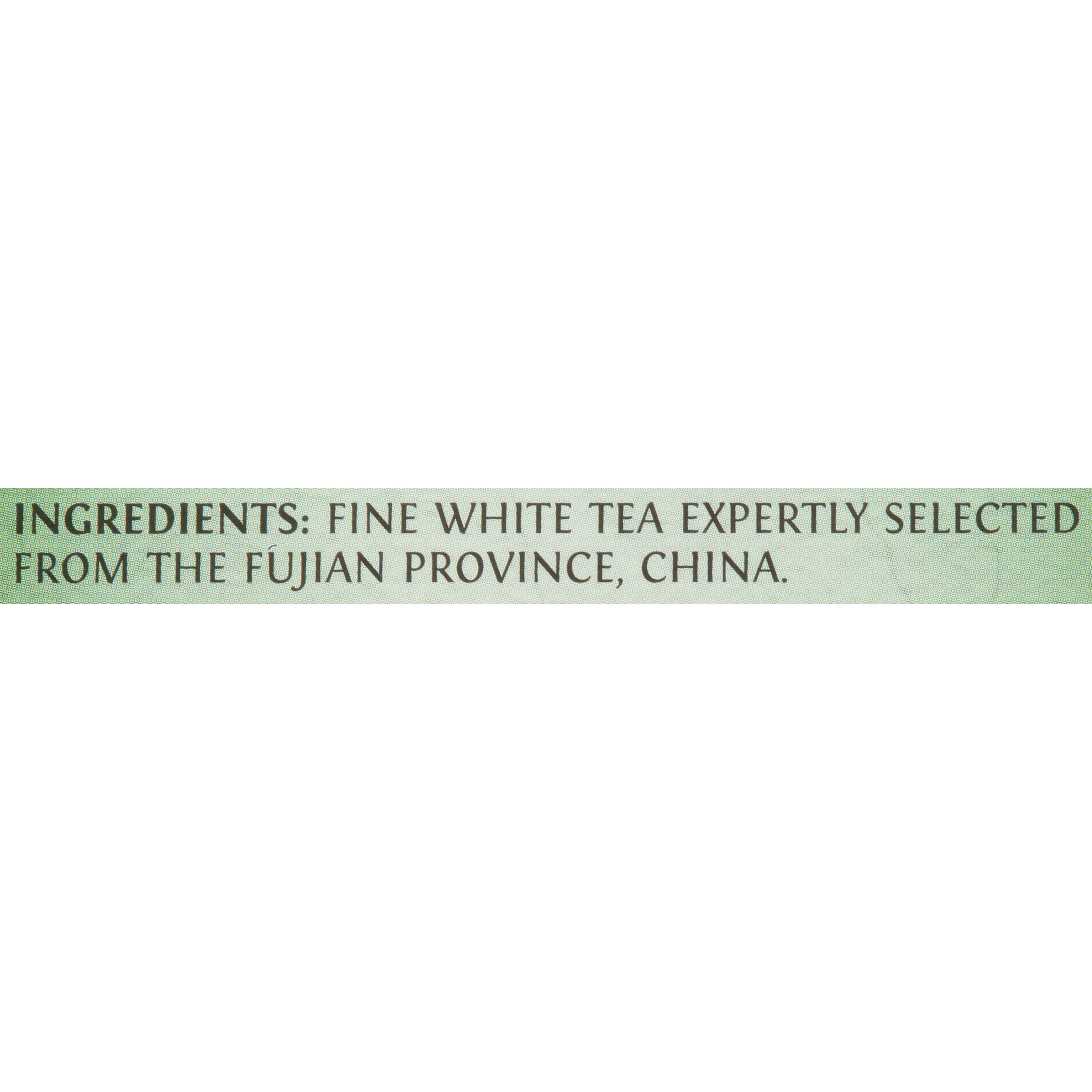 Twinings Fujian Chinese Pure White Tea, 20-Count Tea Bags (Pack of 6)