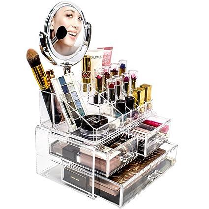 Amazoncom Sorbus Acrylic Cosmetic Makeup Organizer with Makeup