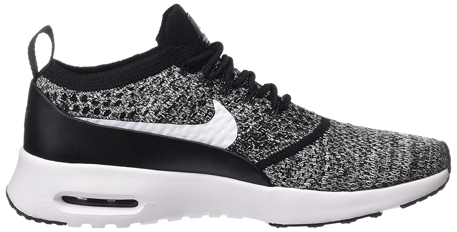 NIKE Women's Air Max Shoe Thea Ultra FK Running Shoe Max B07236F2T3 5W|Black/White 1d344e