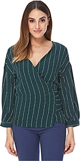 Moves Wrap Top for Women
