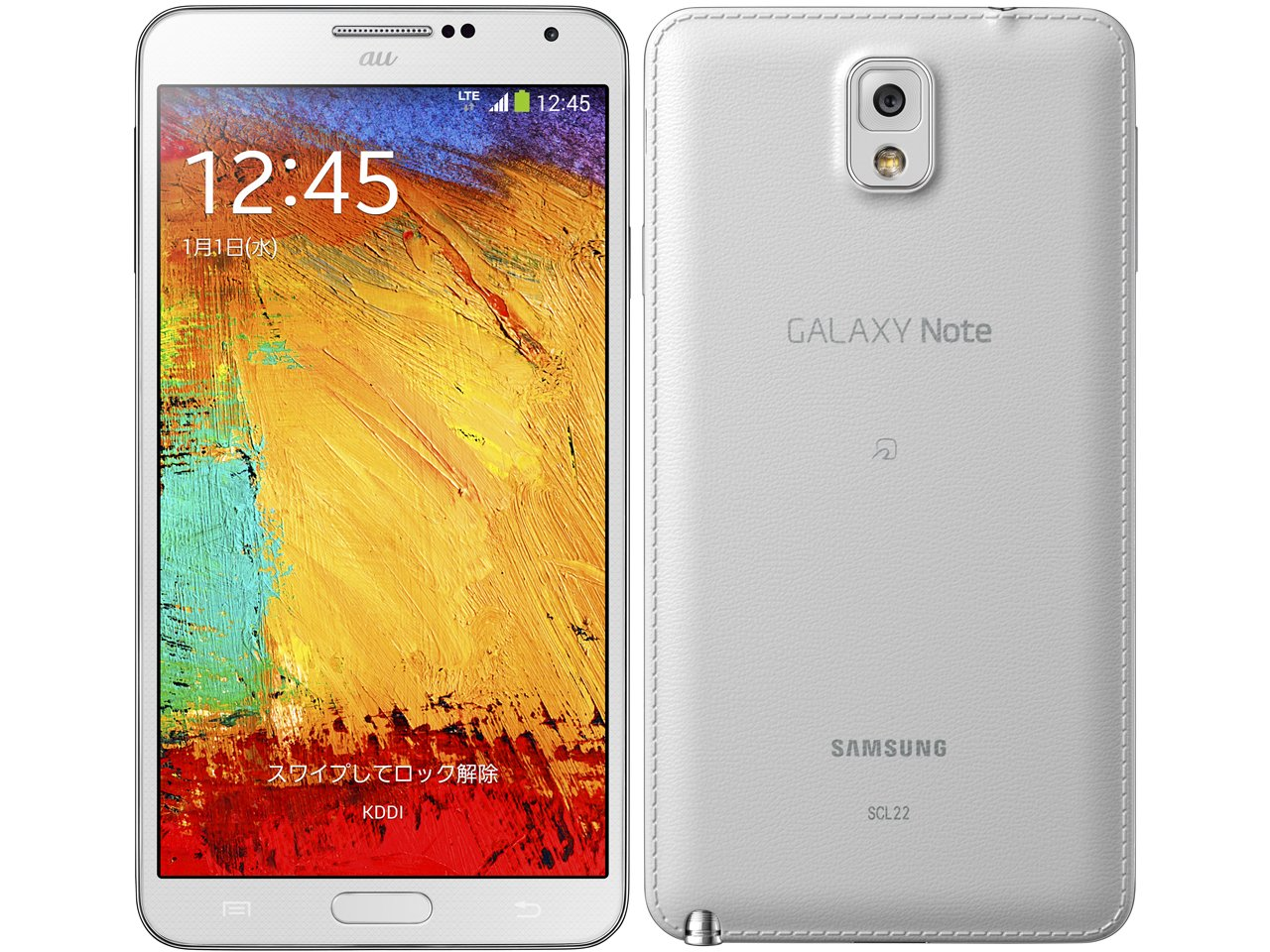GALAXY Note3 SCL22(クラシックホワイト)
