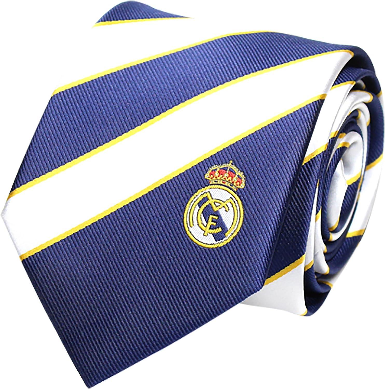Real Madrid CF - Corbata - para hombre azul Bianco/Blu Talla única ...
