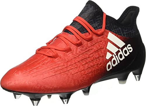 adidas Chaussures de Foot X 16.1 SG Homme Rouge