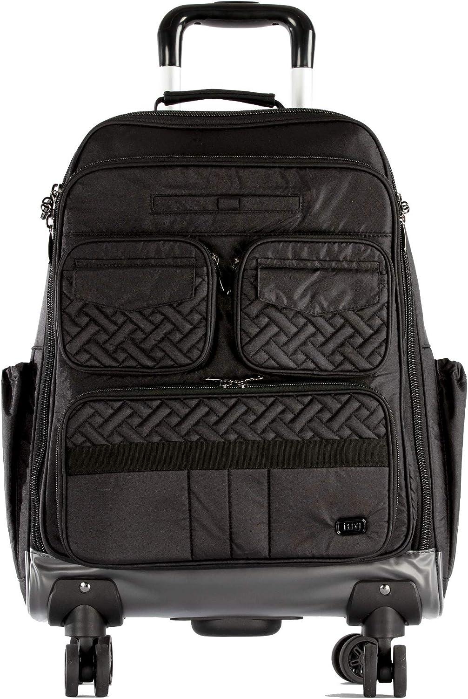 Lug Women's Puddle Jumper Wheelie 2, Shimmer Black, One Size