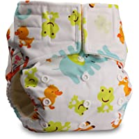 LittleBloom Bebé Pañales Lavables Pañal Reutilizable BAMBÚ, Cierre:Hook-Loop