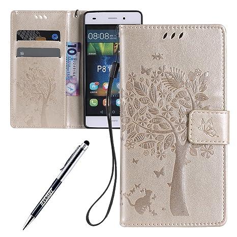 Carcasa Huawei P8 Lite, Funda Huawei P8 Lite, JAWSEU Huawei ...