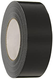 Nashua - 1087211 2280 Polyethylene Coated Cloth Multi-Purpose Duct Tape, 55m Length x 72mm Width, Black