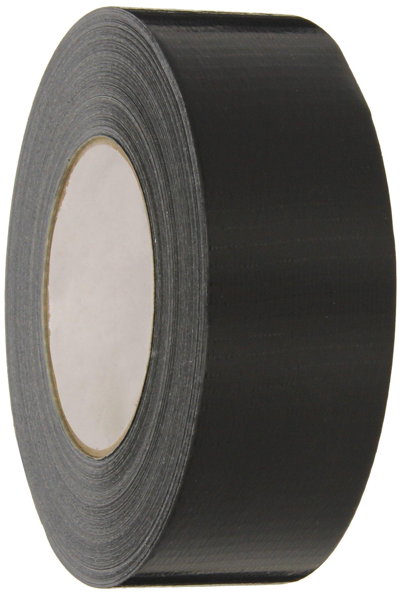 Nashua 2280 Polyethylene Coated Cloth Multi-Purpose Duct Tape, 55m Length x 72mm Width, Black
