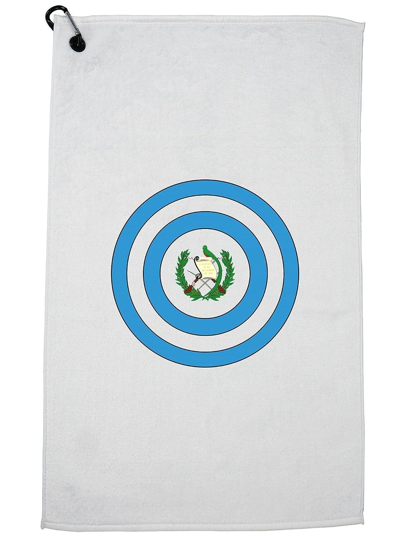 HollywoodスレッドCool CaptainグアテマラShieldキャプテンアメリカでゴルフタオルカラビナ付きクリップ   B07G3Z9LXK