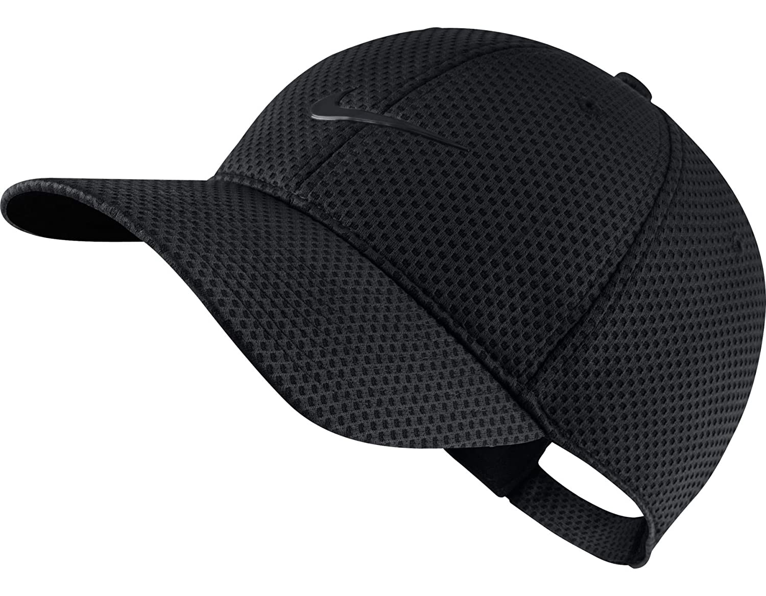 Nike Heritage Dri-Fit Mesh Adjustable Hat Obsidian Black Black   Amazon.co.uk  Clothing 6eaa2d6dea30