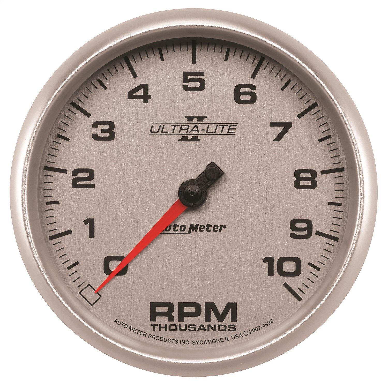Auto Meter 4998 Ultra-Lite II 5'' 10000 RPM In-Dash Tachometer by Auto Meter (Image #2)