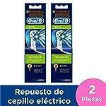 Oral-B Cross Action Repuesto para Cepillo de Dientes Eléctrico, 2 paquetes con 2 unidades (cada uno)