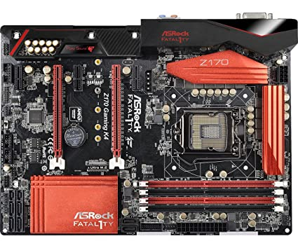 ASRock Fatal1ty Z170 Gaming K4 Intel RST Drivers for Windows 7