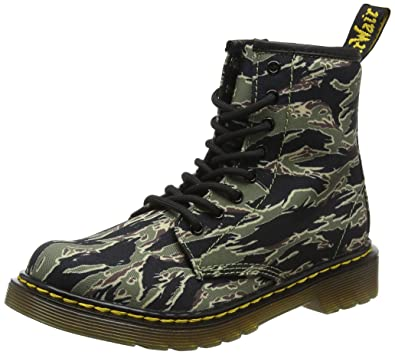 f9e1242fd3995 Amazon.com: Dr. Martens - Unisex-Child 1460 Camo J Juniors Lace Boot ...