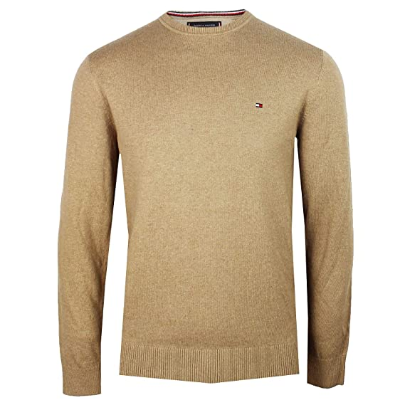 bec1b85e43e Tommy Hilfiger - Cashmere Knitted Sweater Regular Fit - Camel ...