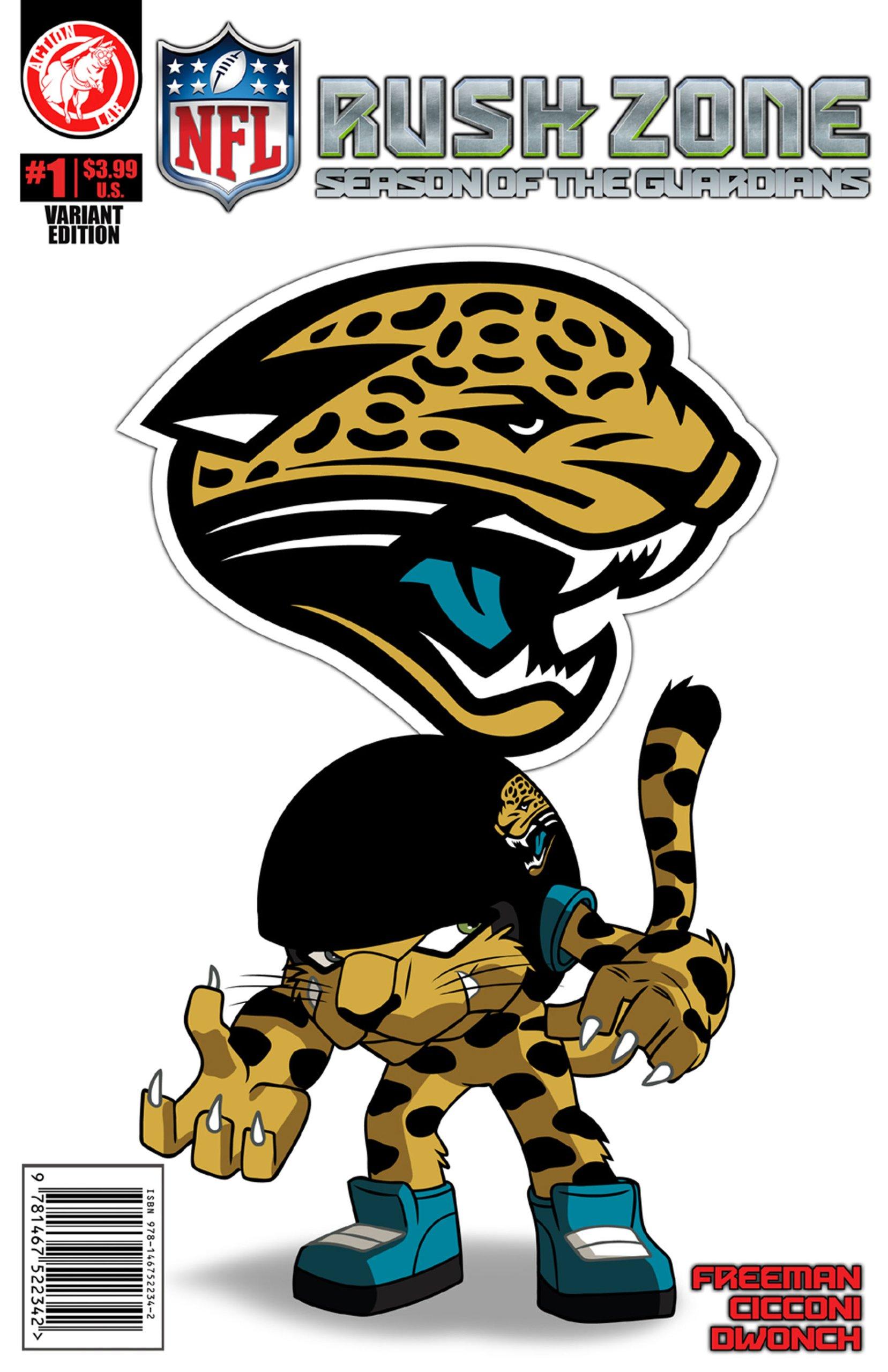Nfl Rush Zone Season Of The Guardians 1 Jacksonville Jaguars Cover Freeman Kevin Goodwin M 9781939352163 Amazon Com Books