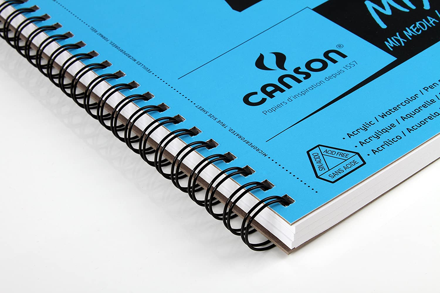 Canson XL Series Mix Media Pad 11X14 Side Wire