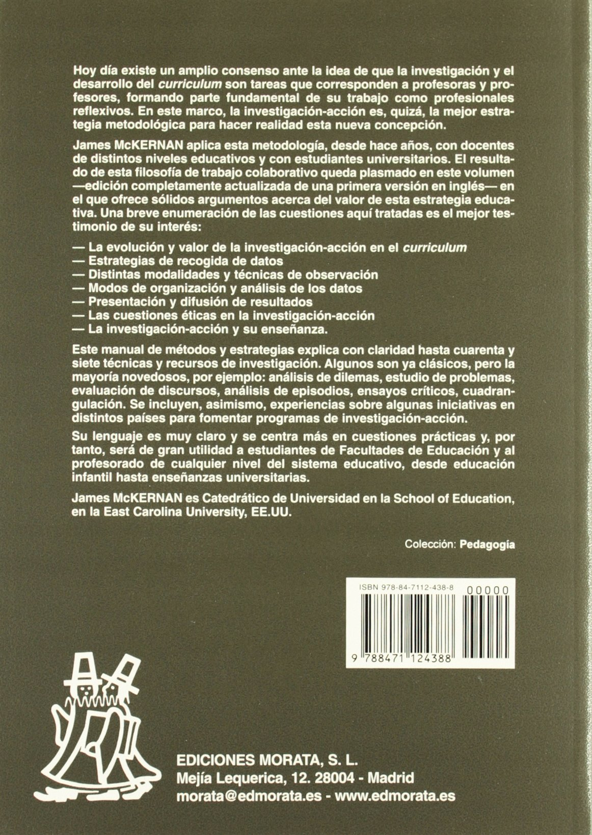 Investigación-Accion y Curriculum: Amazon.es: James McKernan, Tomás ...