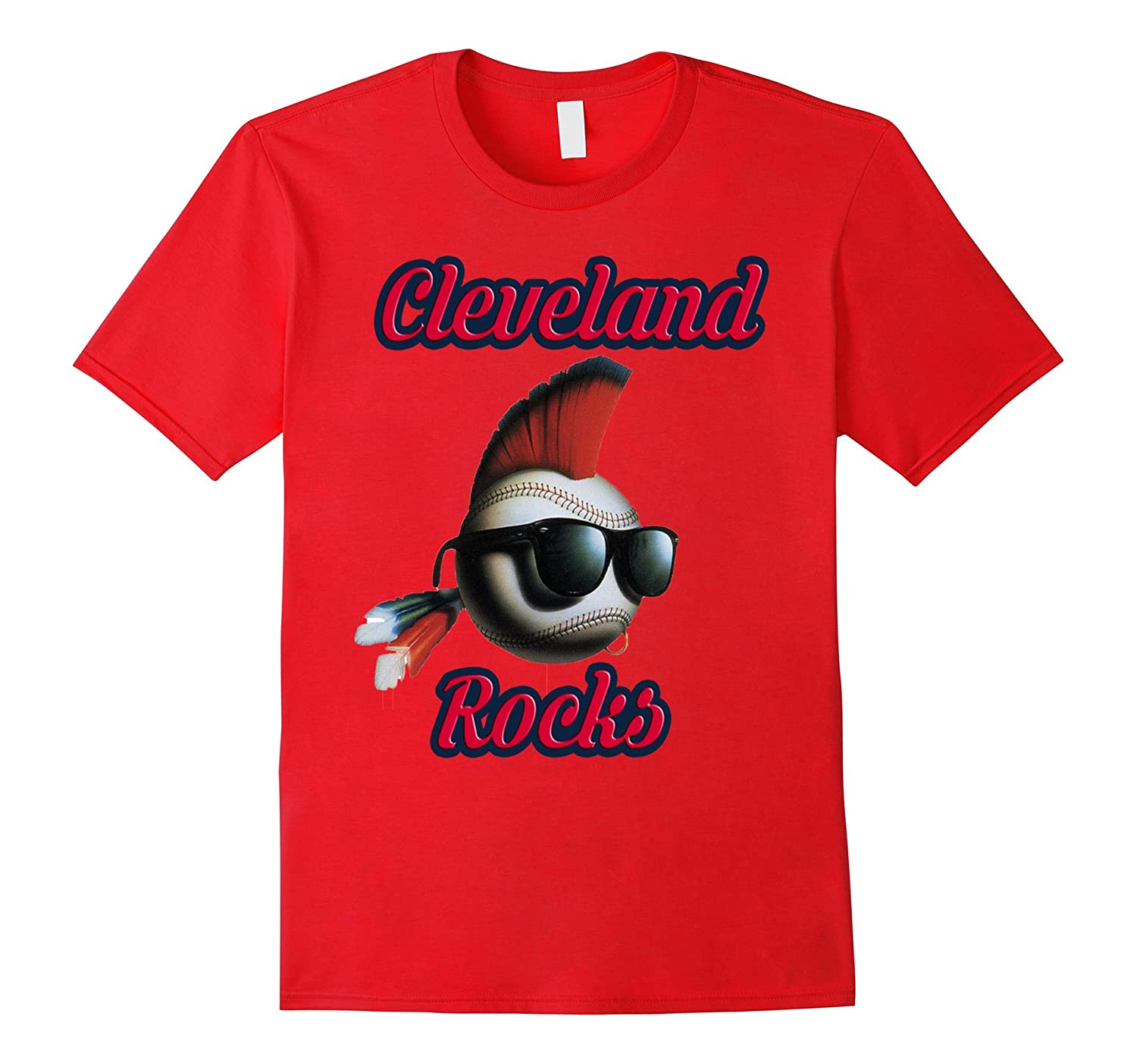 Cleveland rocks T-Shirt -Men, Womens T Shirt-BN