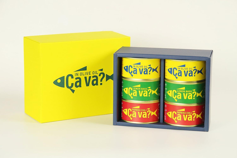サヴァ缶アソートセット×6個