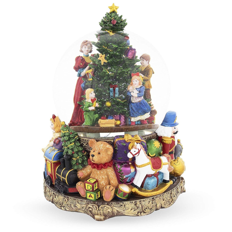 超爆安  BestPysanky 子供用 装飾用 クリスマスツリー 大型 大型 ミュージカルスノードーム 子供用 BestPysanky B07H79DFLS, LUZ-光:077f8d5f --- arianechie.dominiotemporario.com