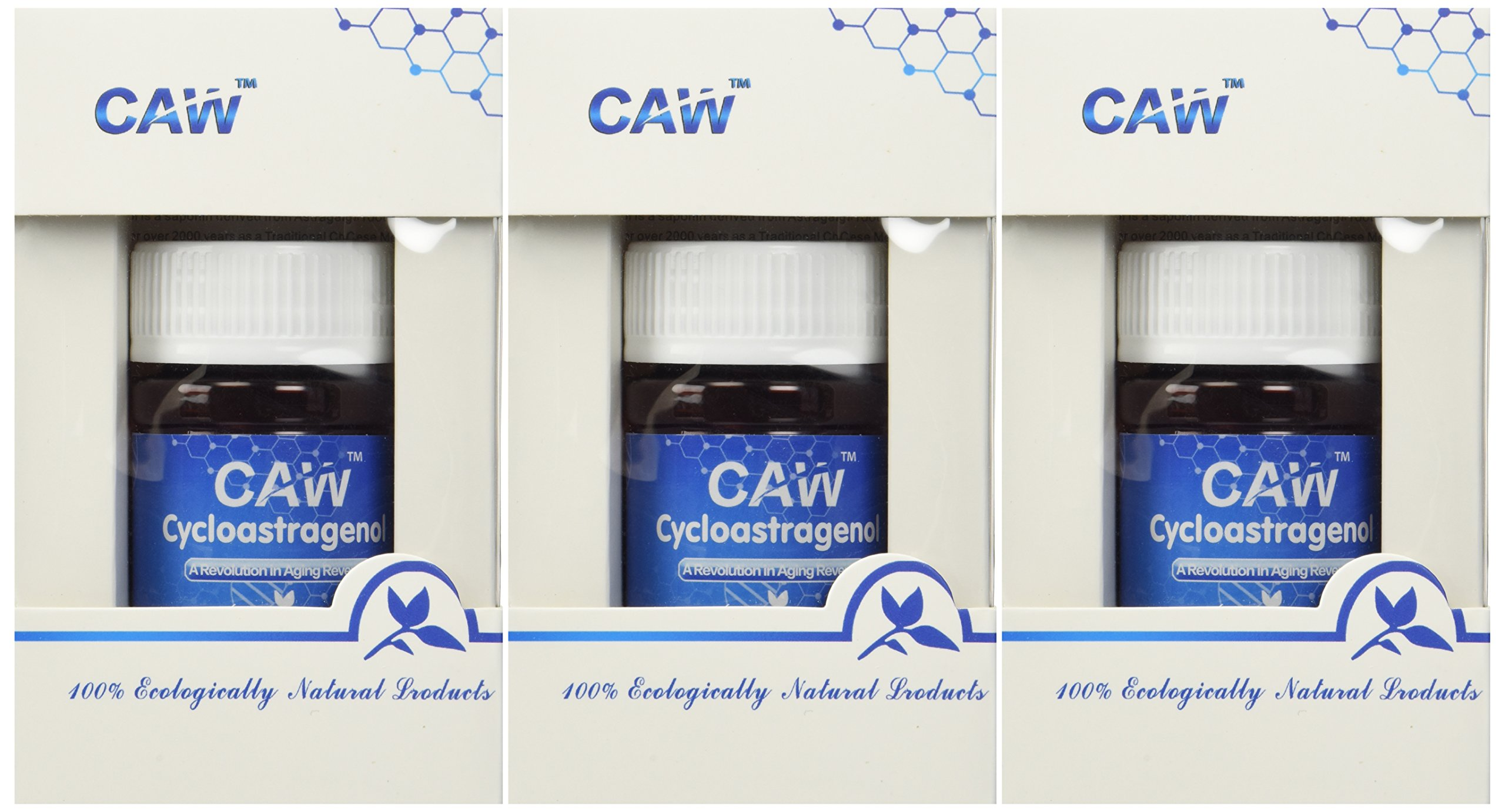 CAW Anti-Aging Supplement | Hypersorption Cycloastragenol 98% | 10mg 90enteric-Coated Capsules by CAW (Image #2)