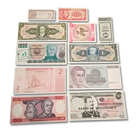 Amazon com: World Banknotes Collection - The Top 11 Most Odd