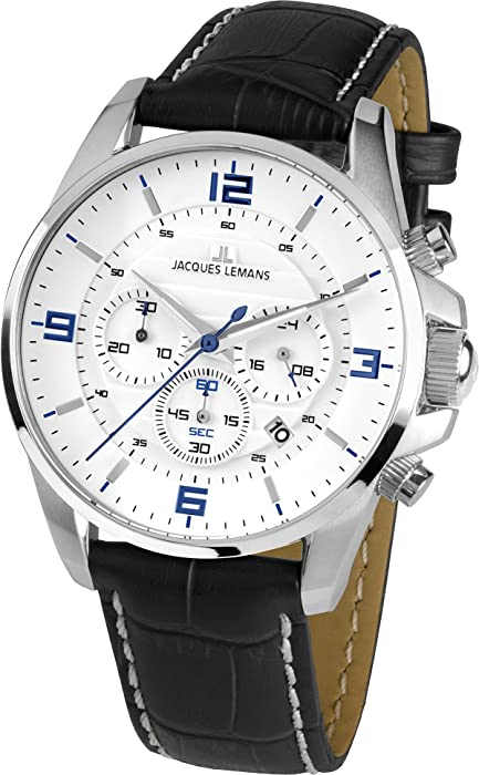 70e203d67637 Jacques Lemans Liverpool – Reloj de Pulsera analógico para Mujer Cuarzo  Piel 1 – 1857b