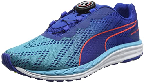 bfec8d5fe9d Puma Unisex s Speed 500 Ignite Disc 2 Blue Running Shoes-11 UK India ...