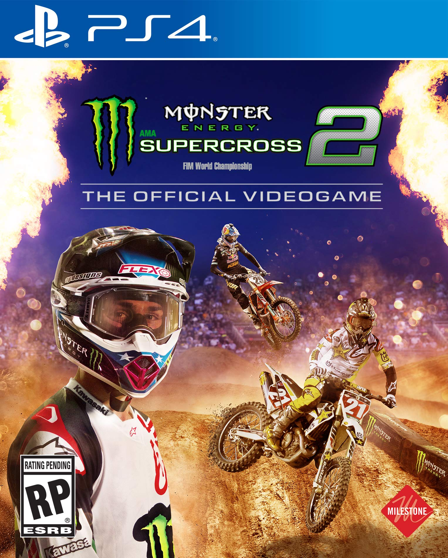 Monster Energy Supercross - The Official Videogame 2 -...