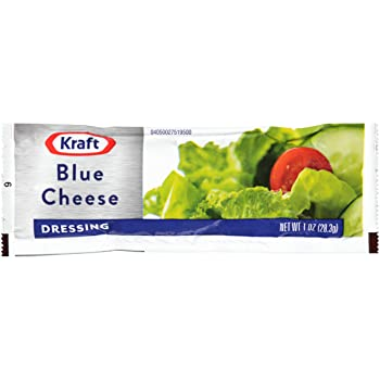 Kraft Single Serve Packets Blue Cheese