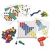 Educational Insights Design & Drill Activity Center: 146Piece—Preschool Creative Thinking & STEM Learning